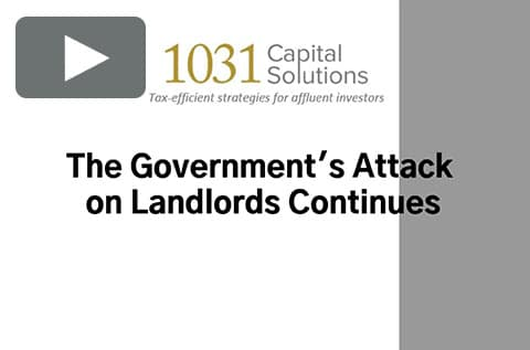 THE GOVERNMENT'S ATTACK ON LANDLORDS CONTINUES