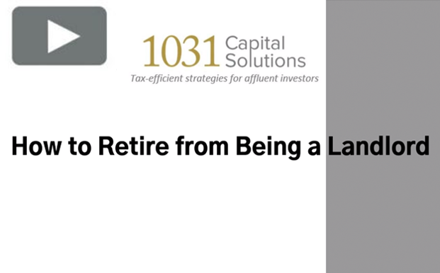 HOW TO RETIRE FROM BEING A LANDLORD