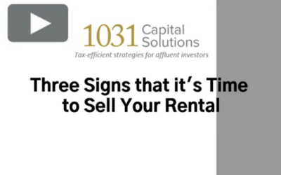 THREE SIGNS THAT IT'S TIME TO SELL YOUR RENTAL