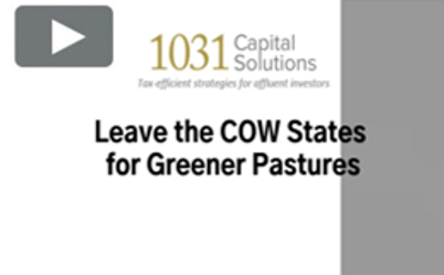 LEAVE THE COW STATES FOR GREENER PASTURES